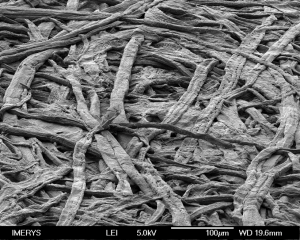 Paper structure, fillers and microfibrallated cellulose